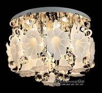 2014  Living Room Lights Crystal Lamp LED Ceiling Light Modern Fashion Bedroom Lamps Lighting DS-021