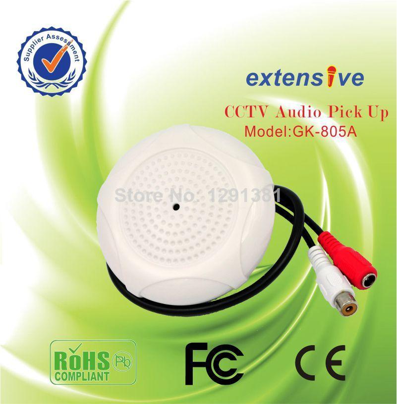 Hot sale cctv audio monitoring collector High-Grade Hd audio recorde mini Microphone(China (Mainland))