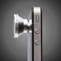 New 180 degree Fish Eye Lens  Wide Angle Lens Macro Lens 3-in-1 Kit for iPhone 4 mobile phone