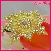 Hot Sale Free Shipping Handmade Shiny Beaded Applique Trim WRA-541