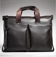 Special Offer! Genuine soft leather Men's handbags Messenger Briefcase Bags Men Shoulder Bag Laptop Bag (NSB-006)