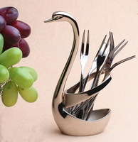 stainless steel swan spout fork holder germany style fork holders kitchen tools high quality include