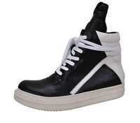 High-end custom brand genuine leather owens cool rock and roll fashion boot Man T show luxury shoes