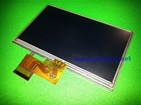 "Original 5""inch for Garmin Nuvi 1490 1490T 1490TV 1490LMT LCD display Screen + touch panel free shipping"