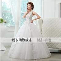 2014 New Arrival Strapless Simple Sweety Princess Wedding Dress K25