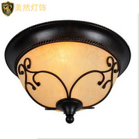 American wrought iron ceiling light rustic ceiling light american lamp fashion ceiling light ceiling lamp