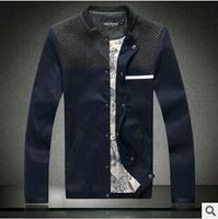 Plus size high quality plaid design casual jackets men autumn spring men jackets fashion Men's Coats >Jackets