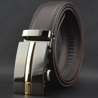 Free shipping the new high-end men's belts wholesale wholesale business automatic buckle belt cowhide leather belt
