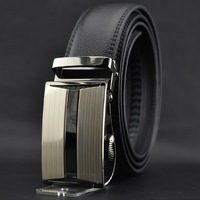 Free delivery of a new automatic male men's business casual belt belt buckle belt Wholesale leather cowhide leather belt