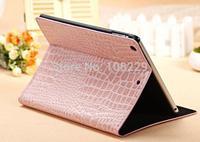 For iPad 5 iPad Air Case Crocodile Grain  Case 9 Colors