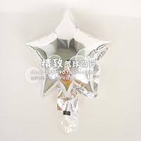 * the Silver Star *6 inch aluminum film balloon silver stars pure aluminum foil wedding venue