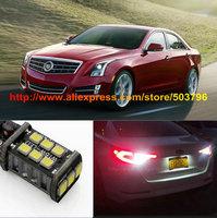 Free Shipping 2Pcs/Lot Superbright Cree 25w 800LM 12v Car Led Back Up Light For CADILLAC ATS/XTS 13-14 CTS Sedan/ELR 2014
