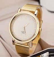 High Quality Golden Metal Band Watch Women WOMAGE New Fashion Luxury Gold Color wristwatch Dropshipping 50p