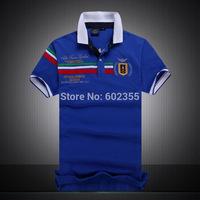 2014 Summer New Men's Polo Shirt 100% Cotton Short Sleeve Polos Shirts Fashion Slim Famous Designer Polo-Tee For Men M,L,XL,XXL