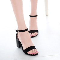 Free shipping 2014 summer new fashion European and American women's large size Miss Gao Genxie thick with new sandals wholesale