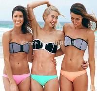 2014 Bikini New Swimwear Women new style sexy hot good quality Swimsuit free Shipping Good Quality gift