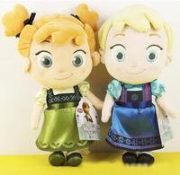 Original Frozen Elsa Anna childhood Plush baby plush Soft Toys HOT NEW GIFT