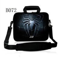 "Cool Spider Logo 17.3"" 15.6"" 14"" 13.3"" 11.6"" 10.1"" Laptop Sleeve Case Bag Shoulder Strap for Alienware HP"