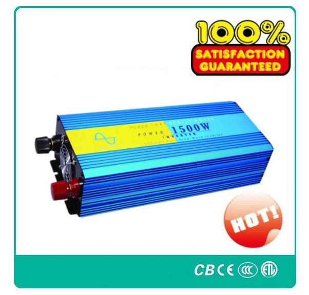 pure sine wave inverter 1500W max 3000W DC 24V AC 220V off grid power inverter! CE & ROHS standard ! Brand NEW !(China (Mainland))