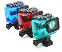 3 colors Waterproof Housing,45M Waterproof Underwater Protective Case For Gopro Hero3/3+ Free shipping