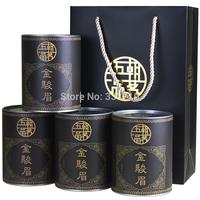 Free shipping Special offer  50% offer  500g black tea  super grade  jinjunmei tea  paulownia tea  gift box  lift price  US $