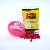 5 inch Pearl NEO round balloon cherry red (Fuchsia) South Korea wholesale balloons 100