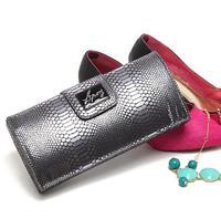 2014 Women's  Evening Bags Women Handbag Rivet Elegant Lady Grey Snakeskin Clutch Evening Bags Stereotypes Day Clutches clutch