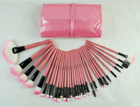 2014 Professional 32Pcs Make Up Brushes High Quality Facial Cosmetic Kit Beauty Bags Set Makeup