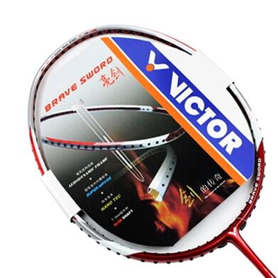 Victor courageux épée 08 badminton, peur de carbone nano 4 u présent. cordes de raquette de badminton ensemble absorber la sueur de la colle à la main