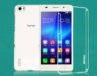 Huawei Honor 6 Transparent Case BEPAK Clear Case For Huawei Honor 6 Transparent Case Free Shipping