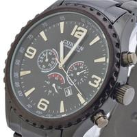 Hot New Fashion CURREN Jewelry Luxury Brand Watches Men Business Calendar Water Sports Analog Steel Quartz Watch