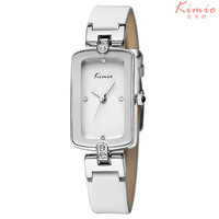 Hot Sales KIMIO Brand Luxury Fashion Women Watches, Waterproof, Women Leather Quartz Watch, Free Shipping