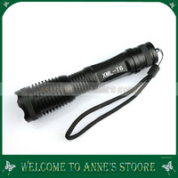 CREE XML-T6 LED 2000 LM 5 Modes ZOOMABLE Power Flashlight FOCUS TORCH Bright