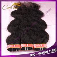 Free Shipping Cutie Hair Products Human Hair Weave Wavy Cheap Peruvian Virgin Hair Body Wave 3PCS/LOT Virgin Peruvian Human Hair