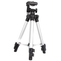 1pc/lot 41inch Flexible 4 Sections Camera Camcorder Tripod Stand Compact  Universal Metal Professional Tripod 672205