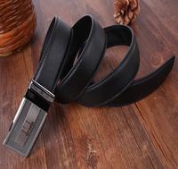 Free shippingnew genuine leather  business man waist belts brand design black/coffee male/boy belts automatic buckle men belts