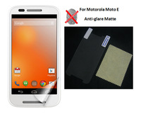 20pcs/lot Anti-glare Matte LCD Screen Protector for Motorola Moto E Phone Screen Film Guard Cover Skin Shield, No Retail Package