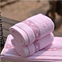 3pcs/lot 100% Cotton Towel 34x74cm for face wash good quality for lover gift bathroom towels for adults