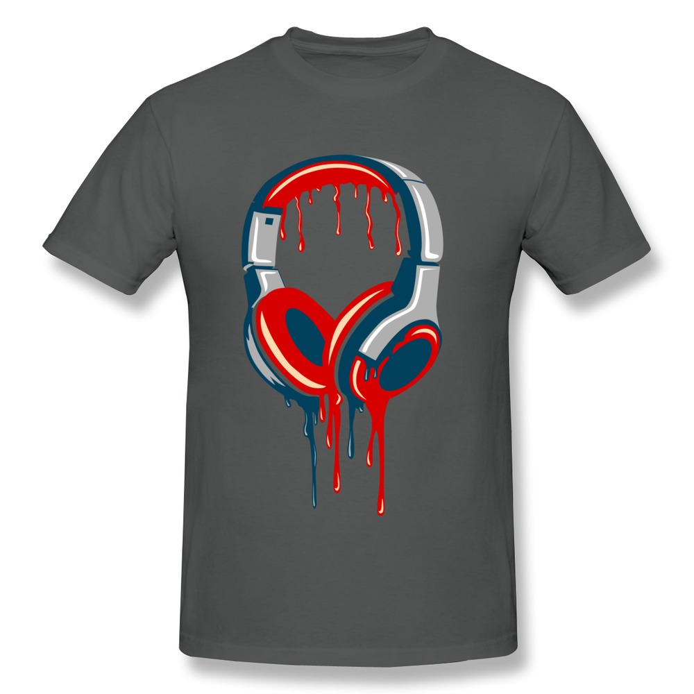 Men t shirt dj headphone casual musical transition design Dj t shirt design