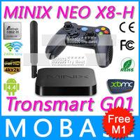 [Tronsmart Mars G01 Gamepad] MINIX NEO X8 H X8-H Android TV Box Amlogic S802-H Quad Core 2G/16G WiFi HDMI XBMC Player Smart TV