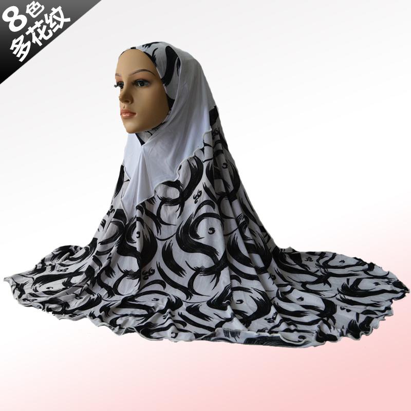 Muslim headscarf, Ms. New, sun caps, scarf, printing stitching, fashion wild style(China (Mainland))