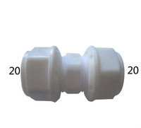 PEX pipe fittings, Equal coupling, for 1620 pipes size