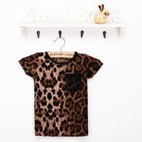 Kids Leopard suit Korean children's clothing wholesale children's clothing burst models gang fight foreign children