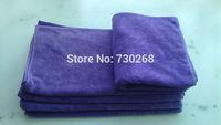 2 pcs 400gsm 35 x 75cm Microfiber Towel Washing Cloth heavy towel Car Polish Cleaning Towel Microfiber kitchen Clean cloth Rags