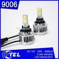 G6 9006 Car Auto LED Headlight Fog Lamps 30W 12V 24V 6000k IP68 Super Aviation Aluminum + 1 Year Warranty