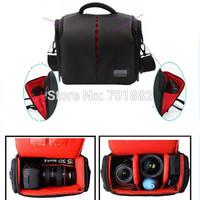 EU SALES PRO Large Space Camera Bag Holder Waterproof with Rain Cover For DSLR  450D 40D 50D 60D 70D 5D 7D