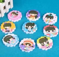 New Free ship 1lot=20pcs/korean stationery kawaii lovely fruits animal Digital memo pad/cartoon post-it note /N stickers