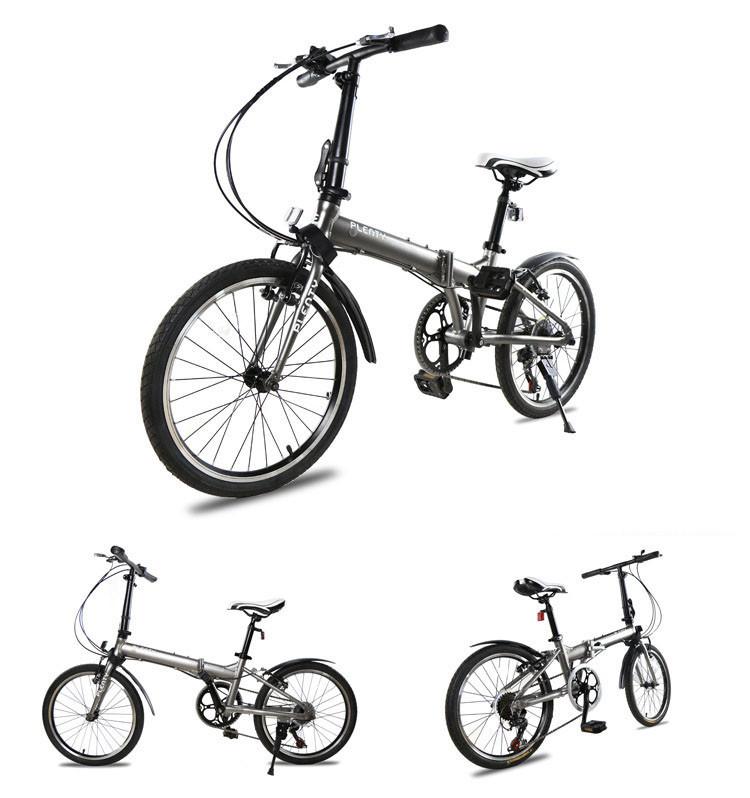 Aluminum Alloy 20-inch Folding Bike wheel brakes Freestyle Street fancy cars Road student car double folding bicycle(China (Mainland))