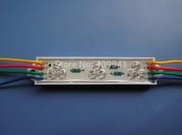 9pcs  LEDs piranha LED Modules Waterproof IP68 DC12V RGB  Rectangle  Shape Free ship