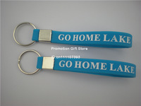 Custom Made Design Silicon Key Holder, Great Idea for Promotion Gift, Silicon Key Ring, 100pcs/Lot
